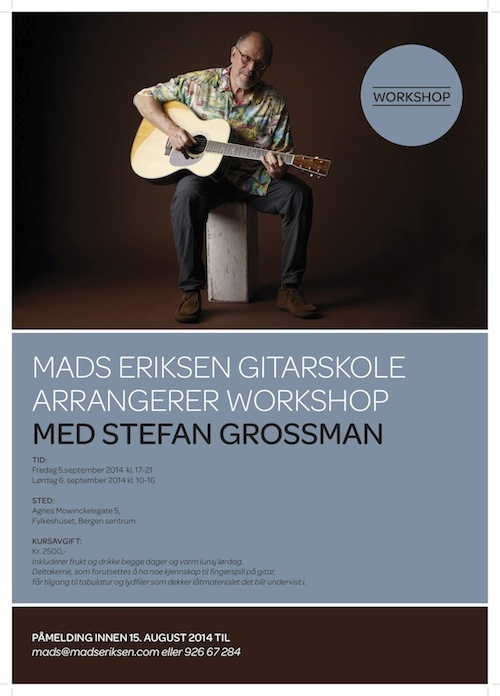 Stefan Grossman Workshop